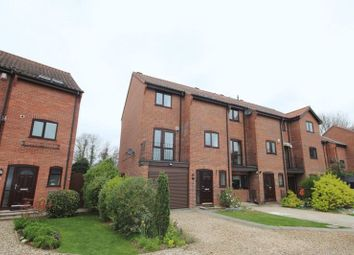 Thumbnail 3 bed town house for sale in Thorpe Hall Close, Norwich