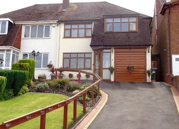 Thumbnail 3 bed semi-detached house for sale in Wyemanton Close, Great Barr, Birmingham