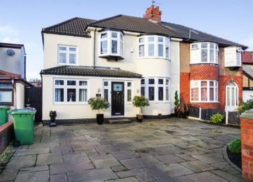 Thumbnail 4 bed semi-detached house for sale in Gainsborough Avenue, Maghull