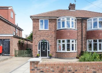 Thumbnail 3 bed semi-detached house for sale in Almsford Road, York
