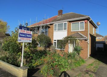 Thumbnail 3 bed semi-detached house for sale in Cadmore Lane, Cheshunt