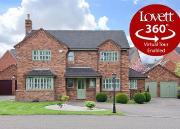 Thumbnail 4 bed detached house for sale in Ashmall, Hammerwich, Burntwood