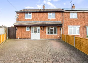 Thumbnail 3 bed semi-detached house for sale in Elizabeth Crescent, Wigston, Leicester