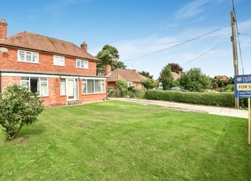Thumbnail 4 bed detached house for sale in Bramley Road, Pamber End, Tadley