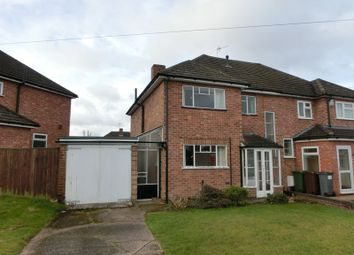 Thumbnail 3 bed semi-detached house for sale in Lindridge Road, Shirley, Solihull