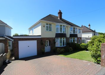 Thumbnail 4 bed semi-detached house for sale in Shiphay Park Road, Torquay