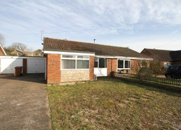 Thumbnail 2 bed semi-detached bungalow for sale in Willow Close, Mattishall, Dereham