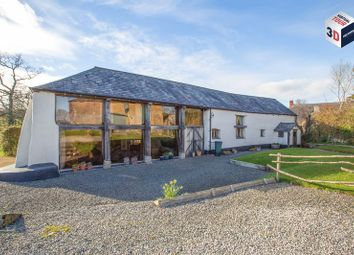 Thumbnail 6 bed detached house for sale in Crockernwell, Exeter