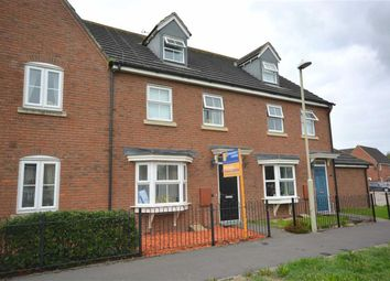 Thumbnail 3 bed town house for sale in Digby Green Kingsway, Quedgeley, Gloucester