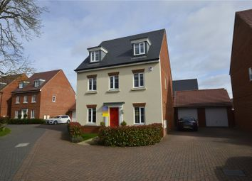 Thumbnail 5 bedroom detached house for sale in Sika Gardens, Three Mile Cross, Reading, Berkshire