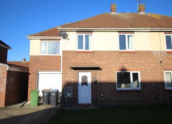 Thumbnail 4 bed semi-detached house for sale in Lumley Crescent, Ferryhill