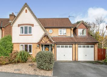 Thumbnail 5 bed detached house for sale in Ebblake Close, Verwood