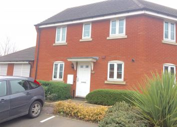 Thumbnail 2 bed flat to rent in Old Station Road, Syston, Leicester