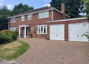 Thumbnail 4 bed detached house to rent in Pine Walk, Cobham, Surrey