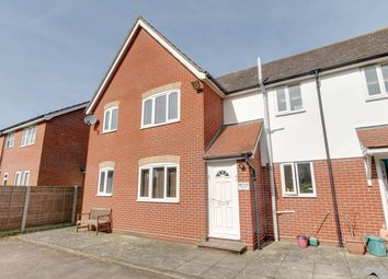 Thumbnail 1 bed flat for sale in Glenway Close, Great Horkesley, Colchester