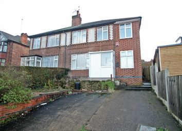 Thumbnail 4 bed semi-detached house for sale in Foxhill Road, Carlton, Nottingham