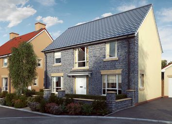 "Thumbnail 4 bedroom detached house for sale in ""The Poplar"" at Mill Lane, Bitton, Bristol"