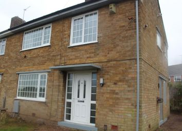 Thumbnail 3 bed semi-detached house for sale in Main Road, Kirkby-In-Ashfield, Nottingham