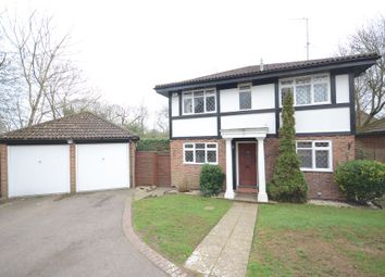 Thumbnail 4 bed detached house to rent in Chippenham Close, Lower Earley, Reading
