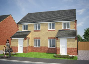 Thumbnail 3 bed semi-detached house for sale in Barnburgh View, Barnburgh Lane, Goldthorpe, Rotherham, South Yorkshire