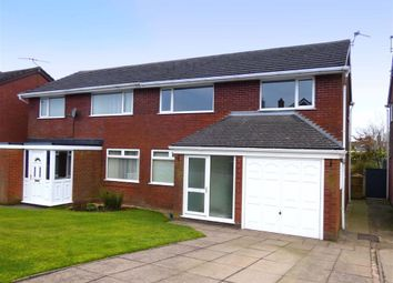 Thumbnail 3 bed semi-detached house to rent in Farmside Lane, Biddulph Moor, Staffordshire