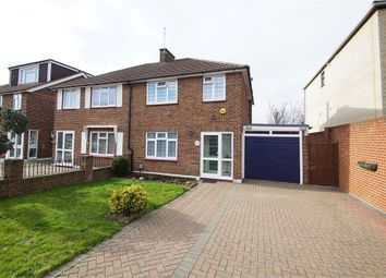 Thumbnail 3 bed semi-detached house for sale in Ruxley Close, Sidcup, Kent