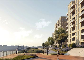 Thumbnail 3 bed flat for sale in Royal Albert Wharf Riverside, Docklands, London