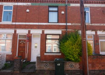 Thumbnail 4 bedroom terraced house to rent in Monks Road, Stoke