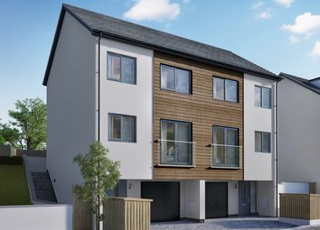 "Thumbnail 3 bed semi-detached house for sale in ""The Blossom"" at Gatehouse Lane, Plymouth"