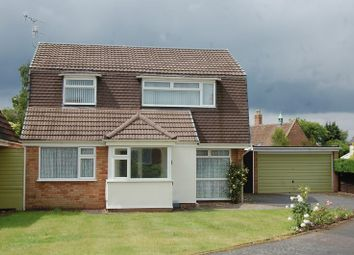 Thumbnail 4 bed detached house for sale in Redford Drive, Albrighton, Wolverhampton