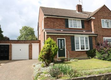 Thumbnail 3 bed semi-detached house to rent in Boundary Drive, Hertford