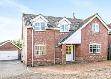 Thumbnail 4 bed detached house for sale in Bower Close, Potter Heigham, Great Yarmouth