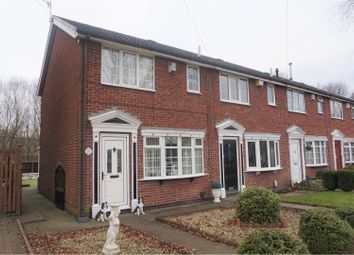Thumbnail 2 bed town house for sale in Westacre, Bucknall, Stoke-On-Trent