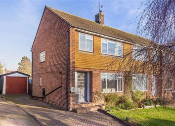 Thumbnail 3 bed semi-detached house for sale in Court Road, Godstone, Surrey
