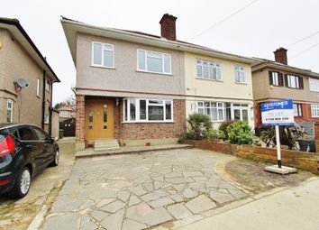 Thumbnail 3 bed semi-detached house to rent in Larchwood Avenue, Collier Row, Romford