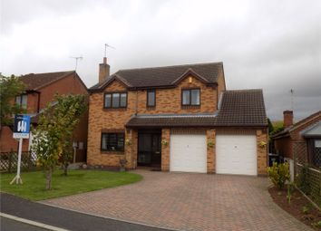 Thumbnail 4 bed detached house for sale in Compton Drive, Creswell, Nottinghamshire