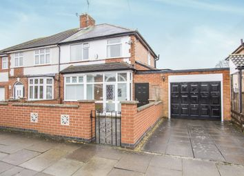 Thumbnail 3 bed semi-detached house for sale in St Marys Avenue, Humberstone, Leicester