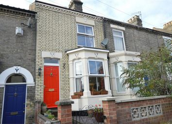 Thumbnail 3 bed terraced house for sale in Salisbury Road, Norwich, Norfolk