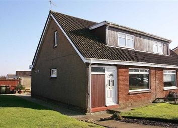 Thumbnail 3 bed semi-detached house for sale in Leith Place, Denny, Stirlingshire