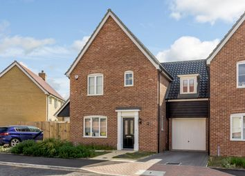 Thumbnail 3 bed link-detached house for sale in Foxglove End, Leiston, Suffolk