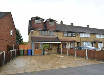 Thumbnail 4 bed end terrace house to rent in Usk Road, Aveley, Essex