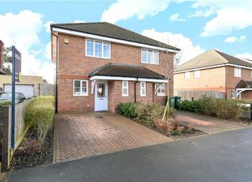Thumbnail 2 bed semi-detached house for sale in Station Crescent, Ashford, Surrey