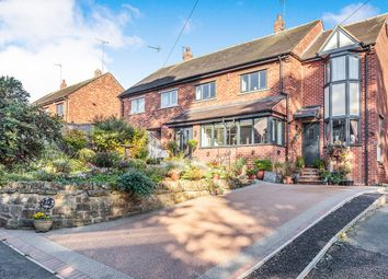 Thumbnail 3 bed semi-detached house for sale in Moor Lane, Gomersal, Cleckheaton