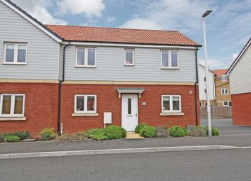 Thumbnail 3 bed semi-detached house for sale in Somerville Crescent, Exeter