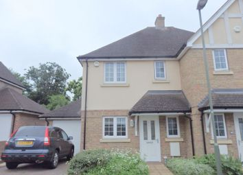 Thumbnail 3 bed semi-detached house to rent in Whitebeam Close, Epsom