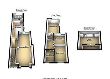 Thumbnail 4 bed terraced house for sale in Thomas Street, Abertridwr, Caerphilly