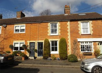 Thumbnail 2 bed terraced house to rent in Connaught Road, Bagshot, Surrey