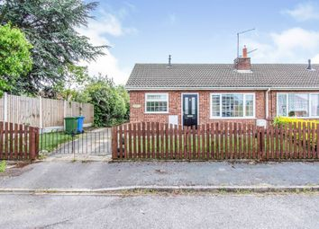 Thumbnail 2 bed semi-detached bungalow for sale in Mayfair Close, Harworth, Doncaster