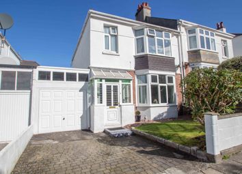 Thumbnail 3 bed semi-detached house for sale in Glenwood Road, Mannamead, Plymouth