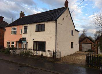 Thumbnail 3 bed semi-detached house for sale in The Street, Helhoughton, Fakenham